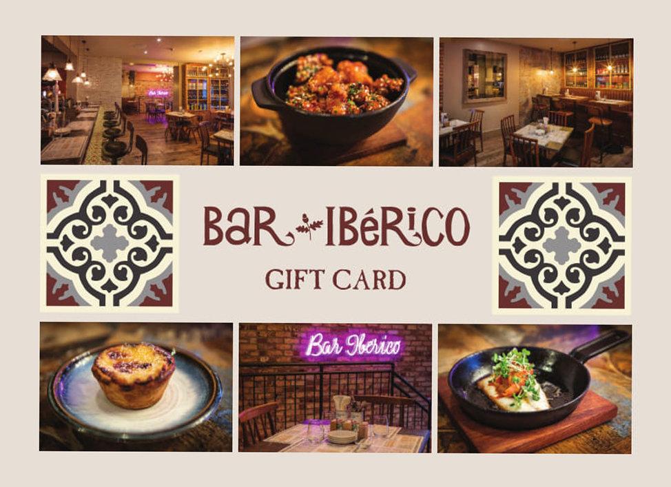 Bar Iberico Gift Card
