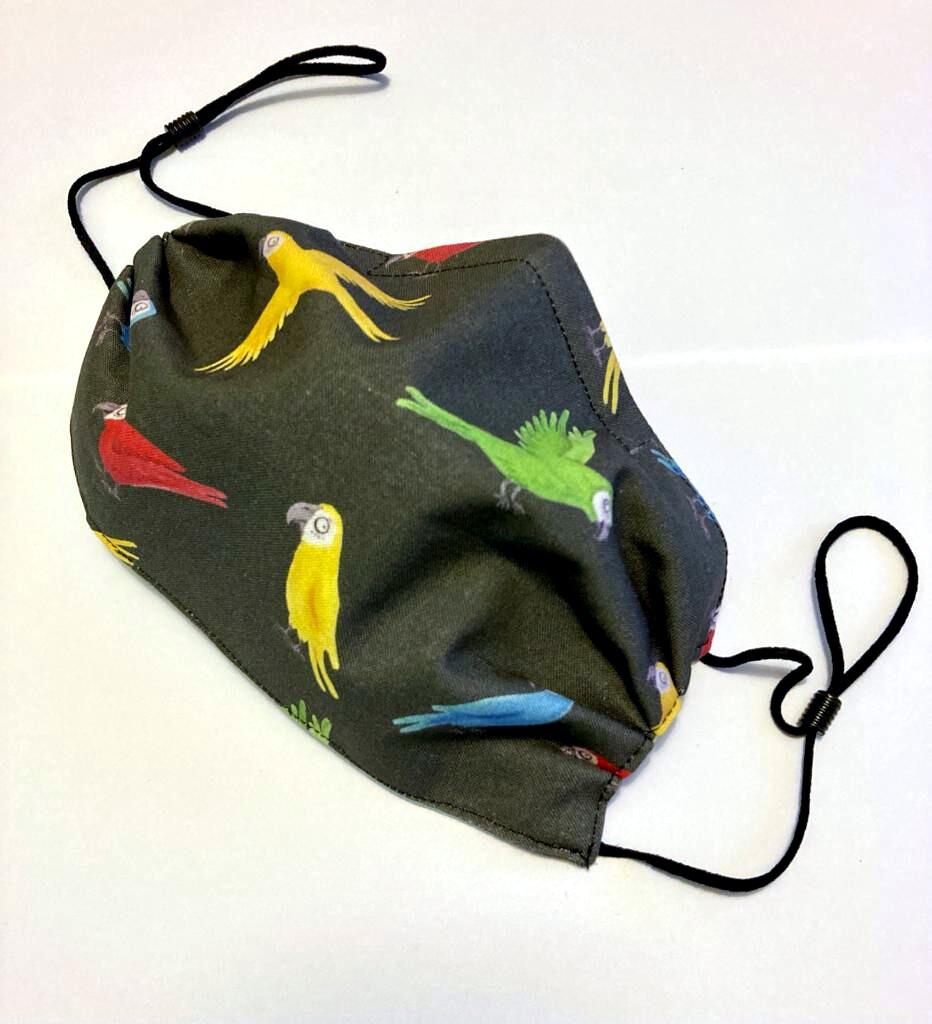 the3million Face Mask (Parrots)