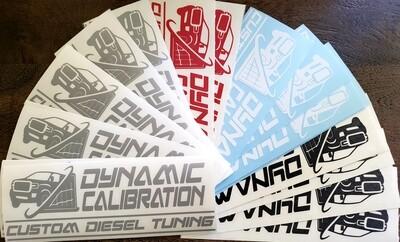 Dynamic Calibration Sticker