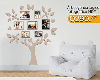 Árbol genealógico fotográfico