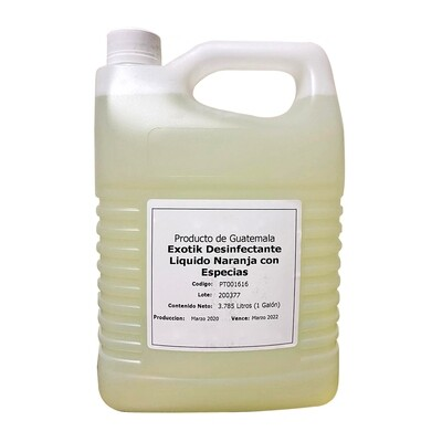 Desinfectante líquido para manos