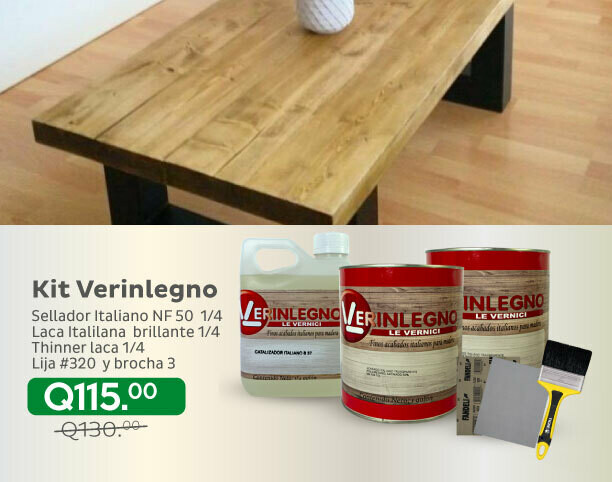 Kit Verinlegno 1/4