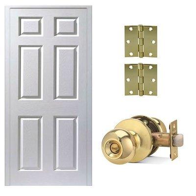 Combo de puerta Colonial Blanco
