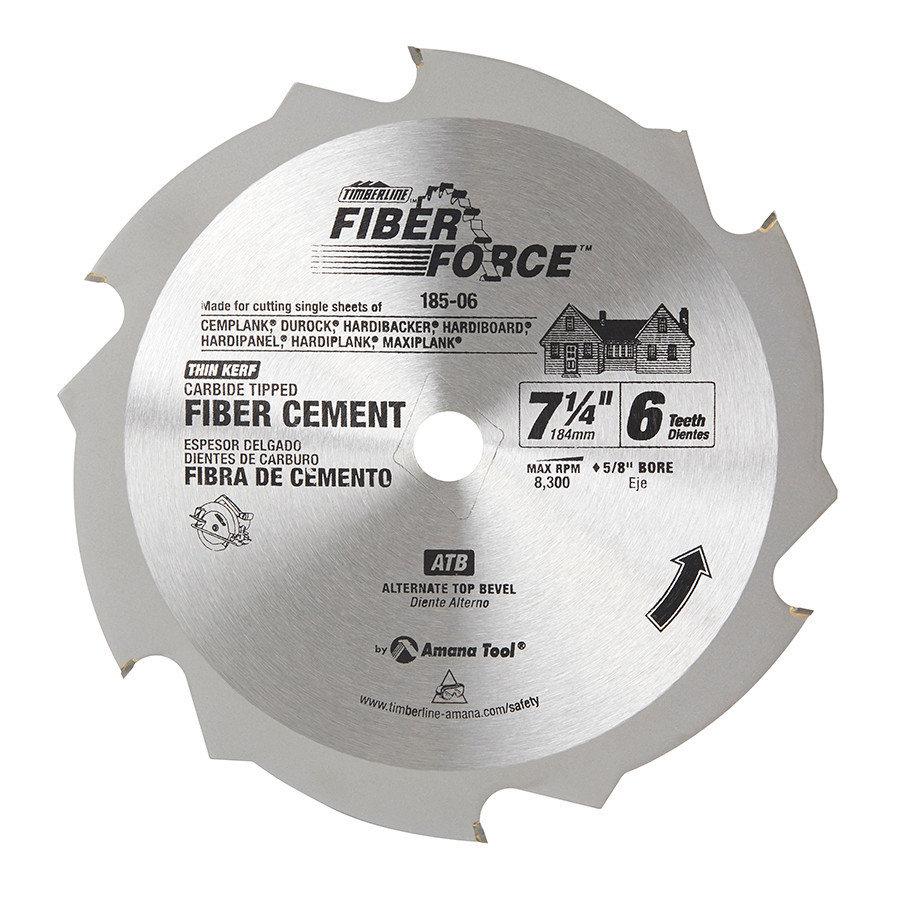 DISCO TIM 7 1/4X6 C/FIBROCEMENTO 185-06