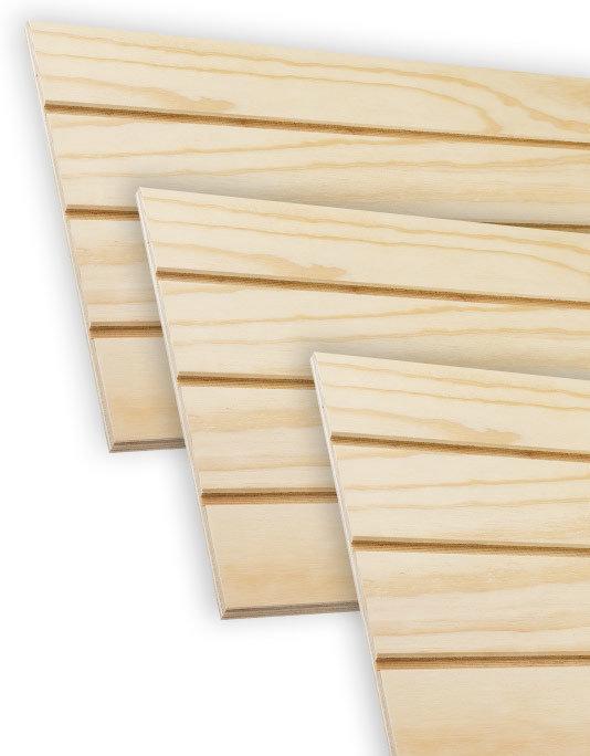 Plywood Ranurado