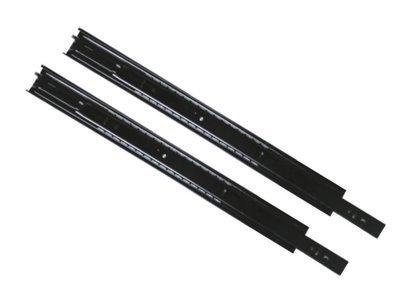 Riel extensión negro (par)