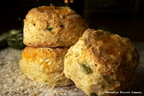 NY Cheddar Jalapeno Biscuits