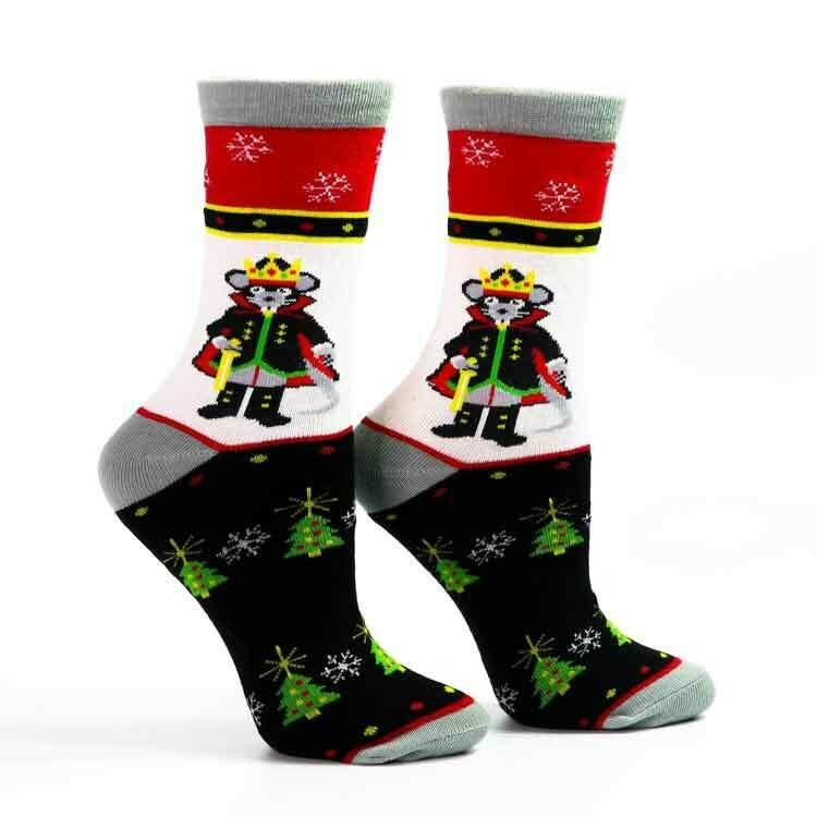 Mouse King Socks