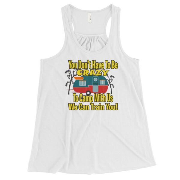 Women's Flowy Racerback Tank