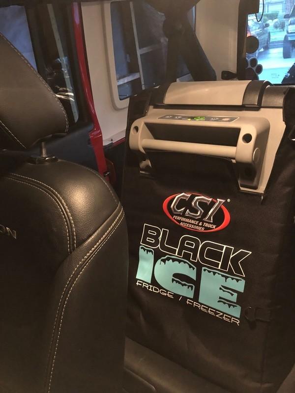 Black Ice Refrigerator