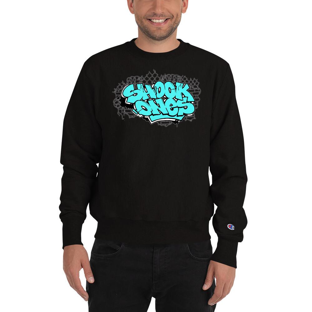 Shook Ones Limited Edition Teal Champion Sweatshirt