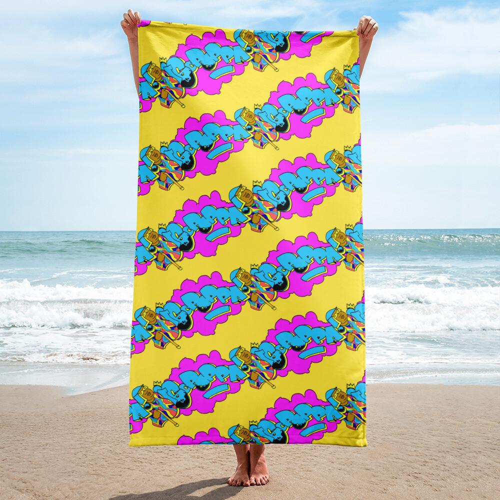 The 24 Karat Gold Big Poppa Super Soft Towel