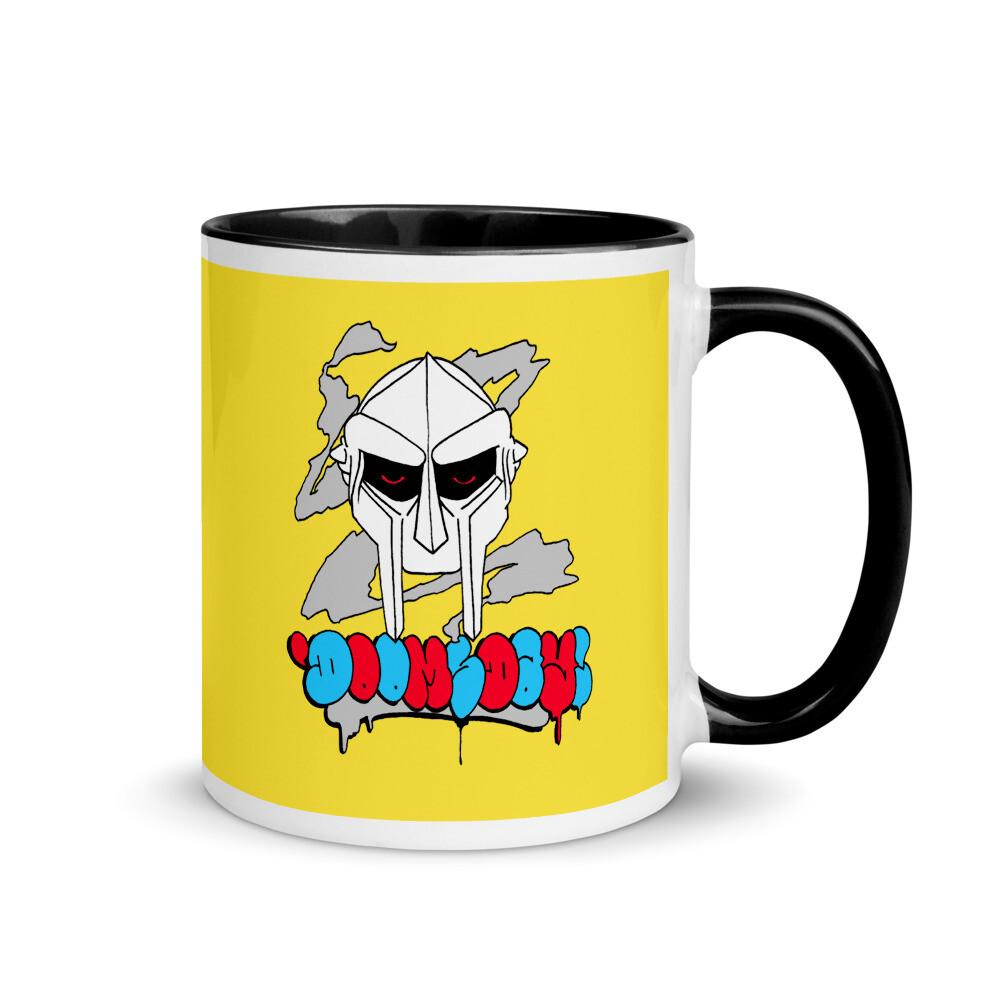 Doomsday Mad Villainy Coffee Mug with Color Inside