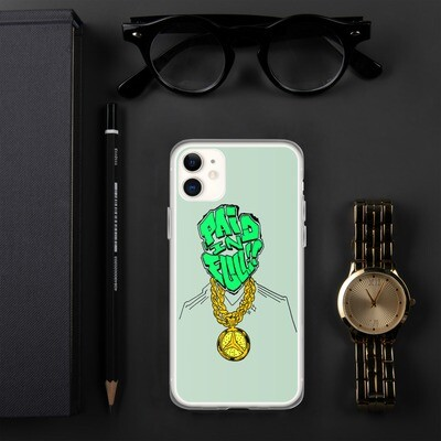 Paid In Full Money Green iPhone Case