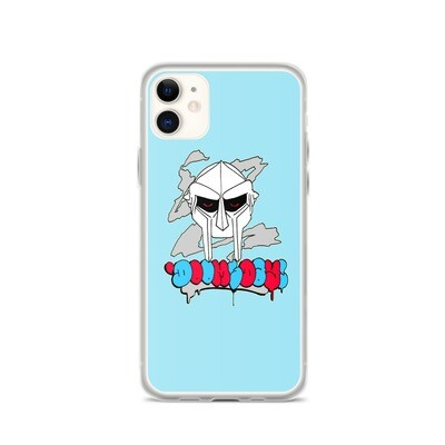Red Eyed Radiactive Doomsday iPhone Case