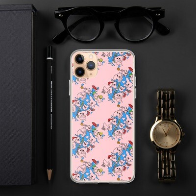 La Di Da Di We Like TO Party Pink iPhone Case