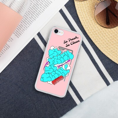 The Shine Like A Diamond So Fresh, So Clean Liquid Glitter Phone Case