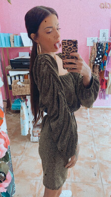 Vestido abullonado