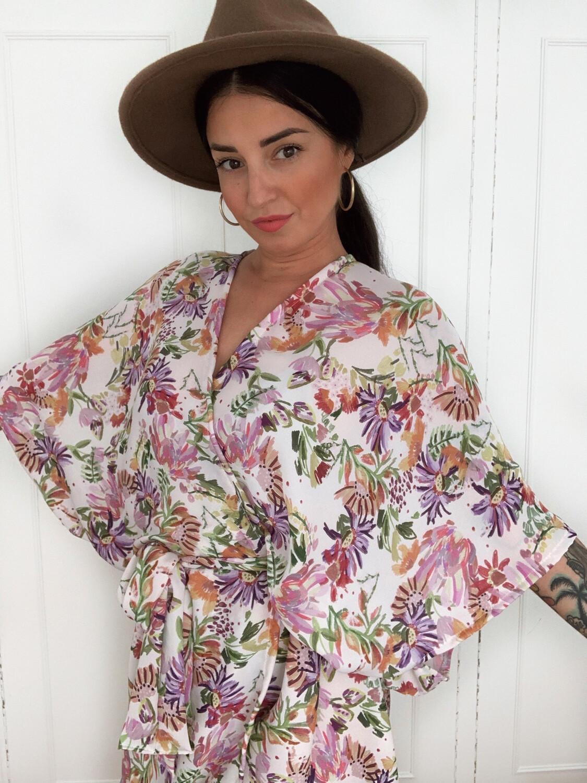 Kimono Midi FLORIDA