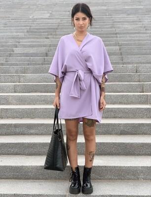 Kimono lila corto