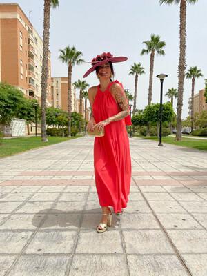 Vestido Zahara CORAL