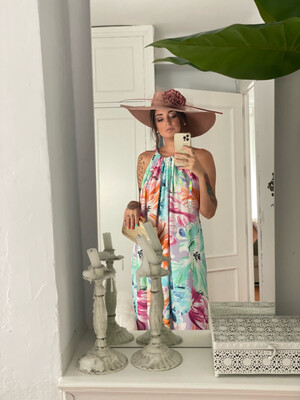 Vestido Zahara Estampado FORMENTERA