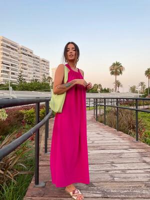Vestido Zahara FUCSIA