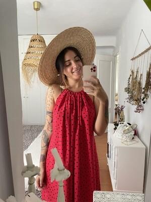 Vestido Zahara estampado PARIS