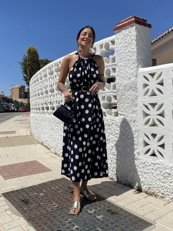 Vestido Zahara LUNARES