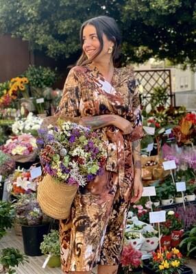 Kimono Midi CHOCOLATE