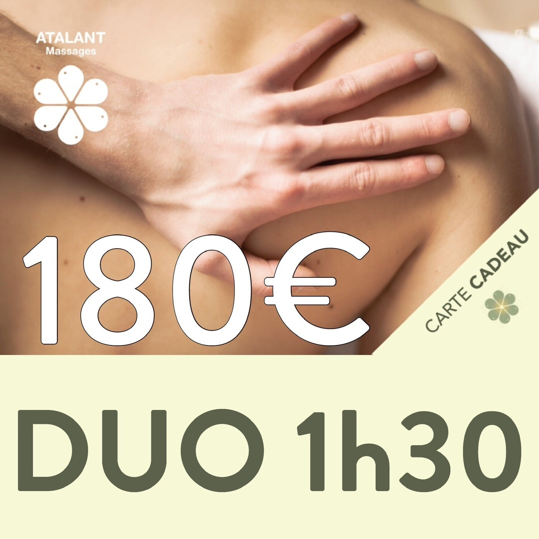 Carte-cadeau d'une valeur de 180€