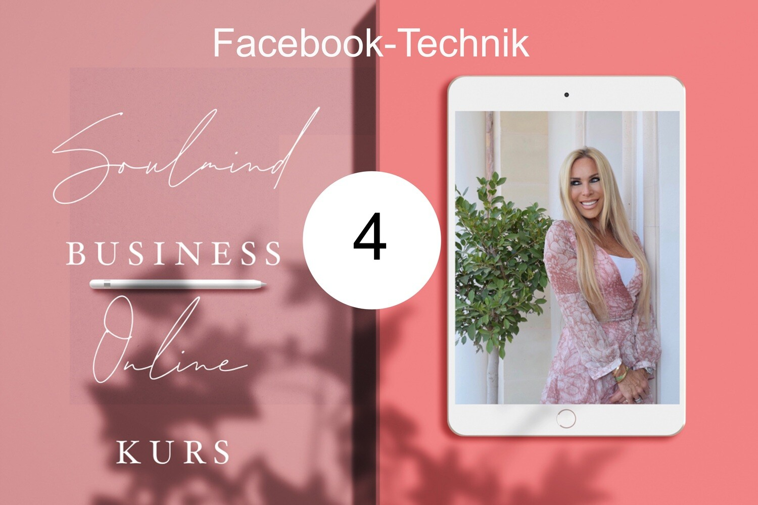 Facebook Technik für BLISSFUL SOUL MIRACLES 3 - BUSINESS MARKETING Modul 4
