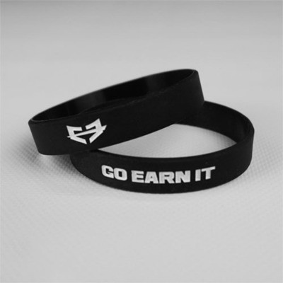 Go Earn It Wristband - Black