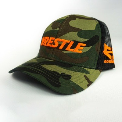WRESTLE - Trucker Series - Green Camo