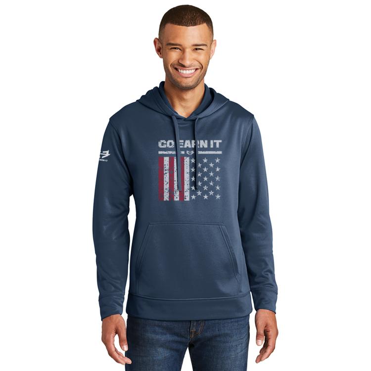 Patriot Dri-Fit Hoodie - Navy