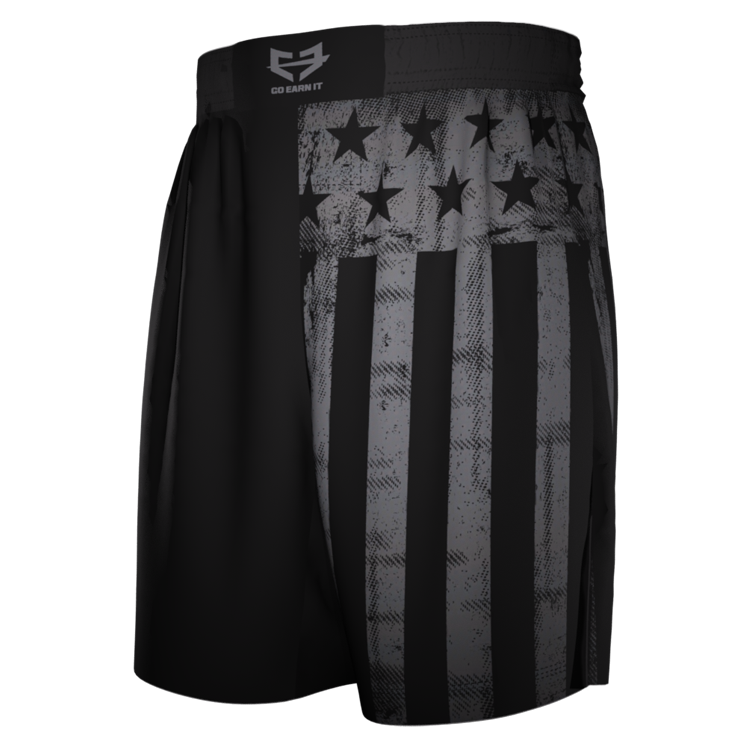 GHOST FLAG FIGHT SHORTS