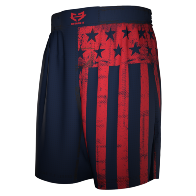 FREEDOM FLAG FIGHT SHORTS