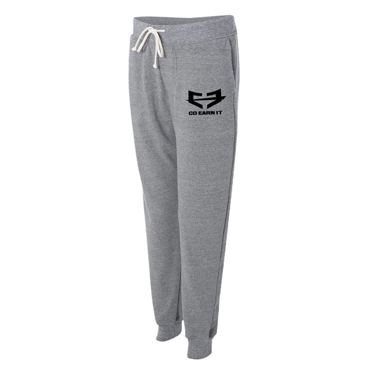 Go Earn It Lightweight Athletic Joggers - Gray