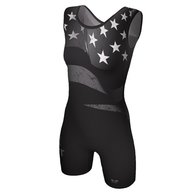 Black Flag Singlet - Women's Cut