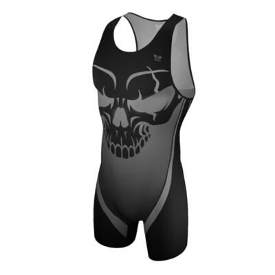 Gray Skull Singlet