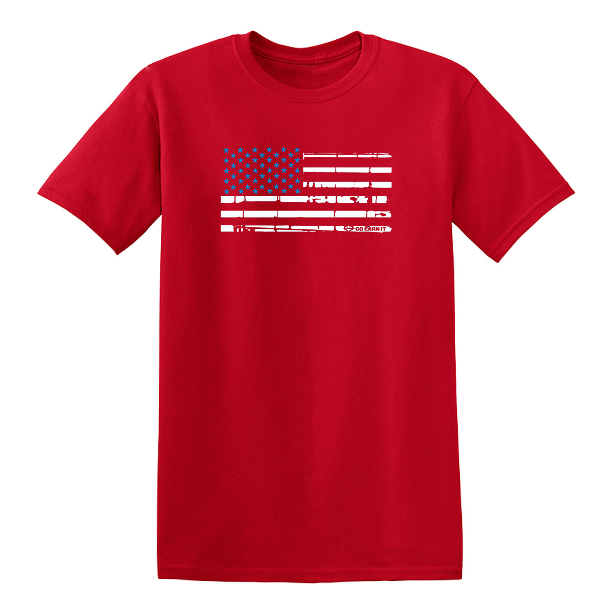 BLUE STAR FLAG GRAPHIC TEE