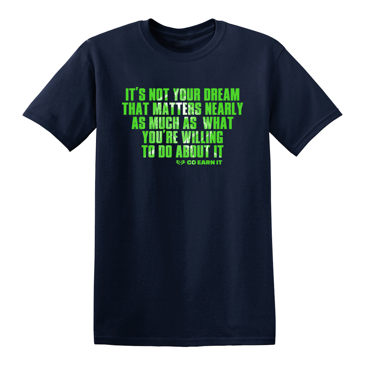 DREAMS INTO REALITY GRAPHIC TEE