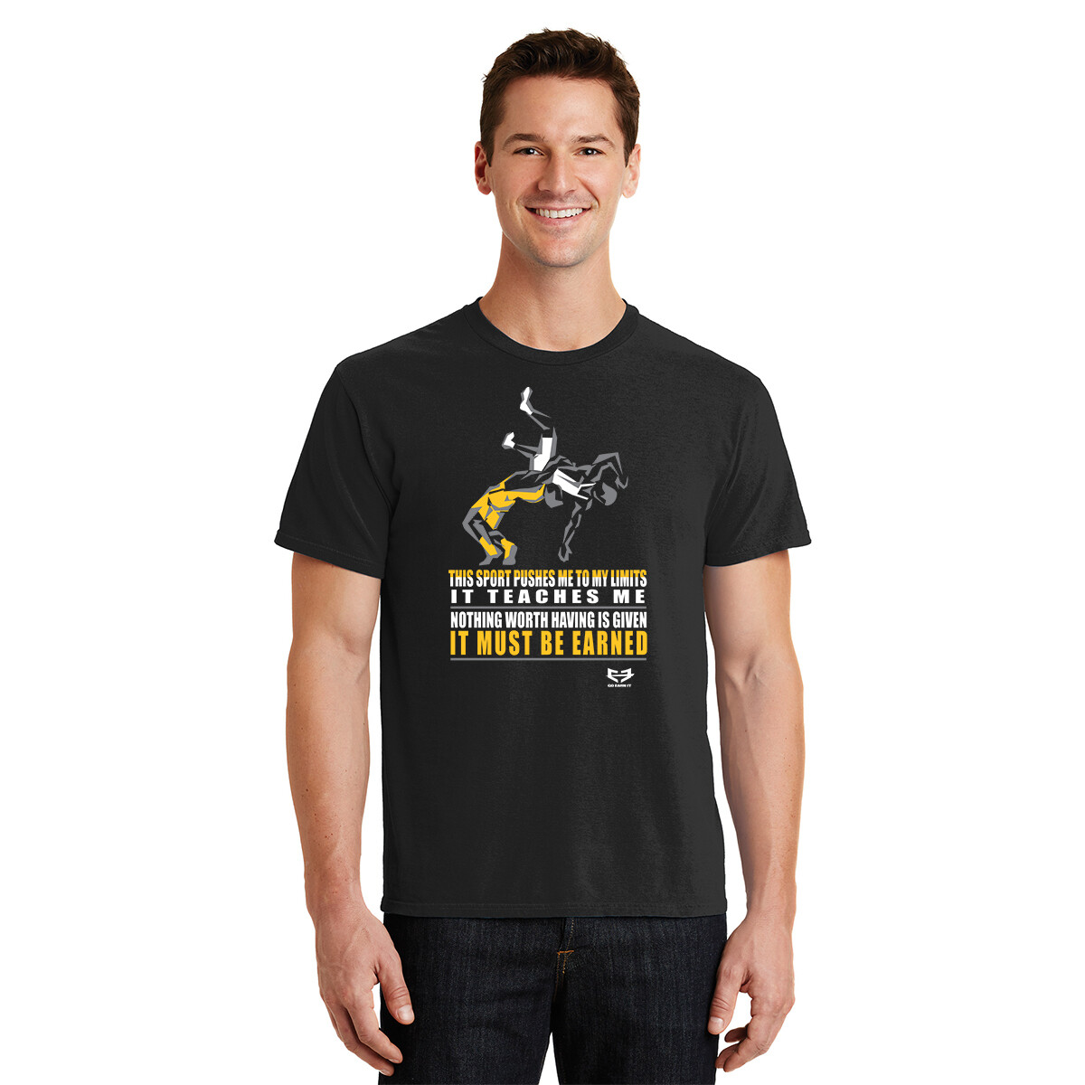 IT MUST BE EARNED GRAPHIC TEE