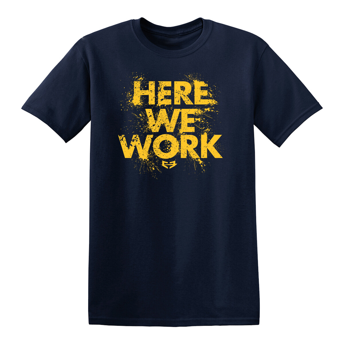 HERE WE WORK GRAPHIC TEE