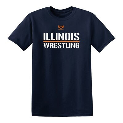 ILLINOIS WRESTLING GRAPHIC TEE