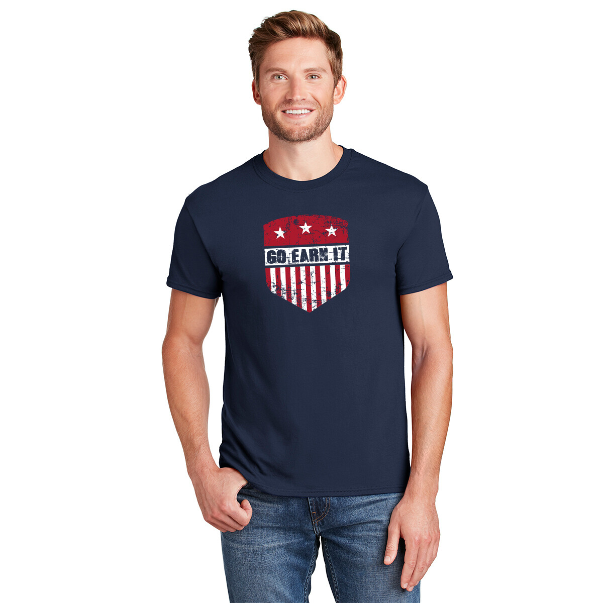 PATRIOT SHIELD GRAPHIC TEE