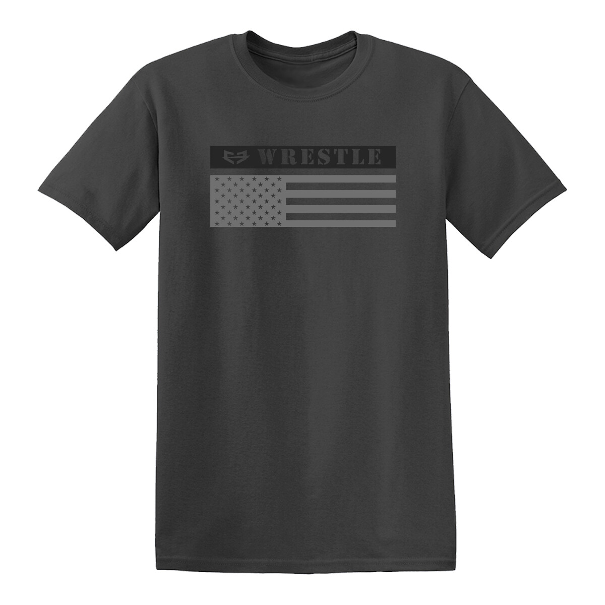 WRESTLE FLAG GRAPHIC TEE