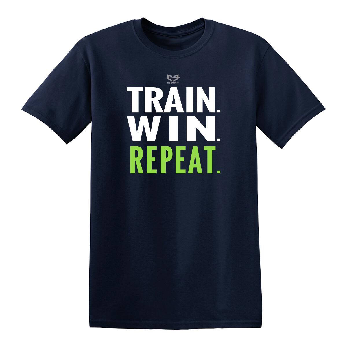 TRAIN TO WIN GRAPHIC TEE