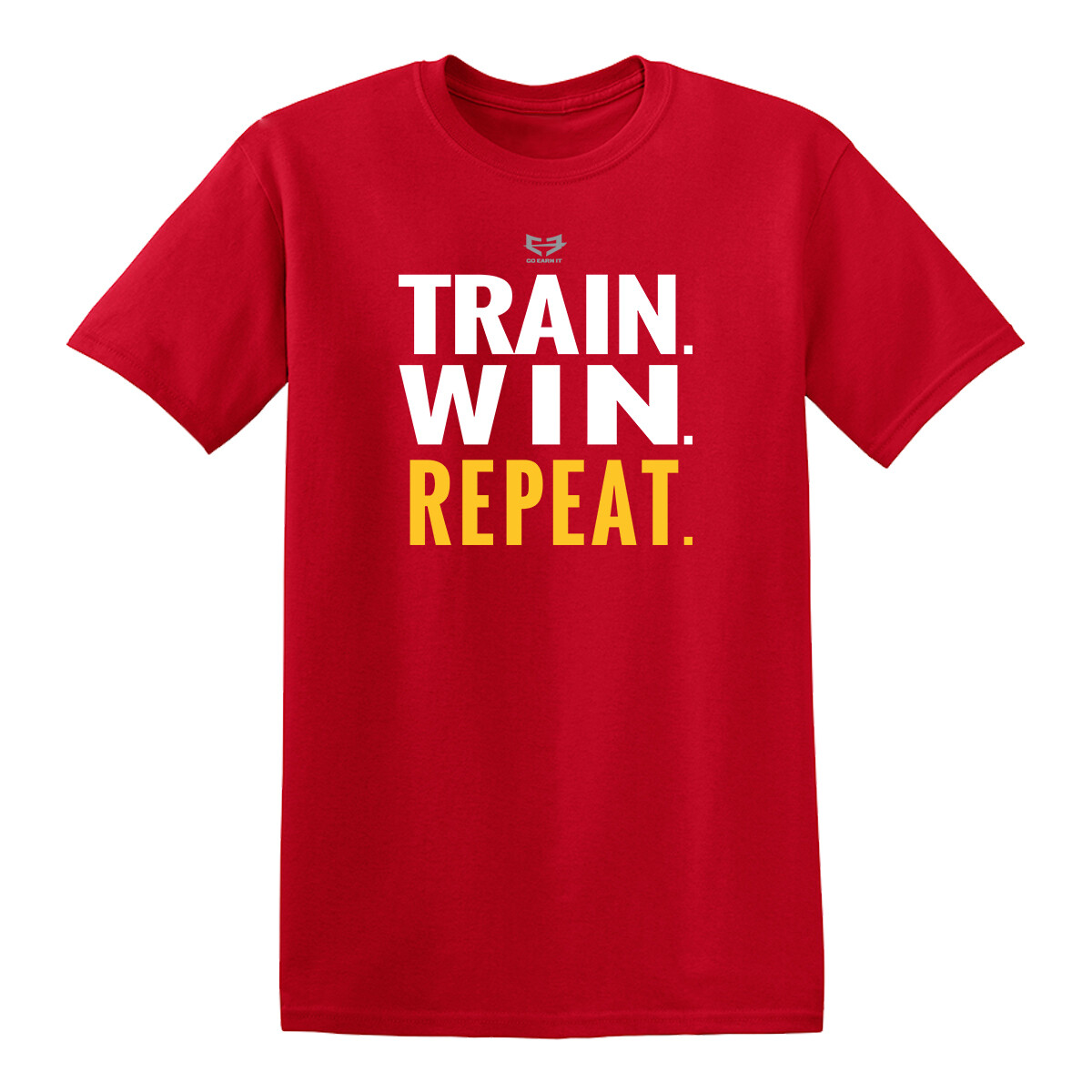 TRAIN TO WIN GRAPHIC TEE
