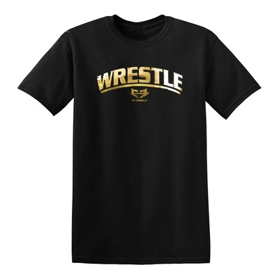 WRESTLE GRAPHIC TEE - GOLD RUSH